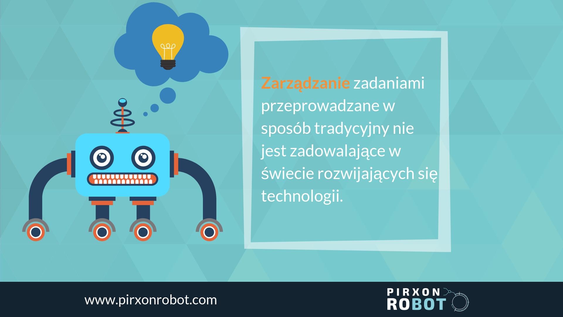robotyzacja backoffice PIRXONrobot PIRXON