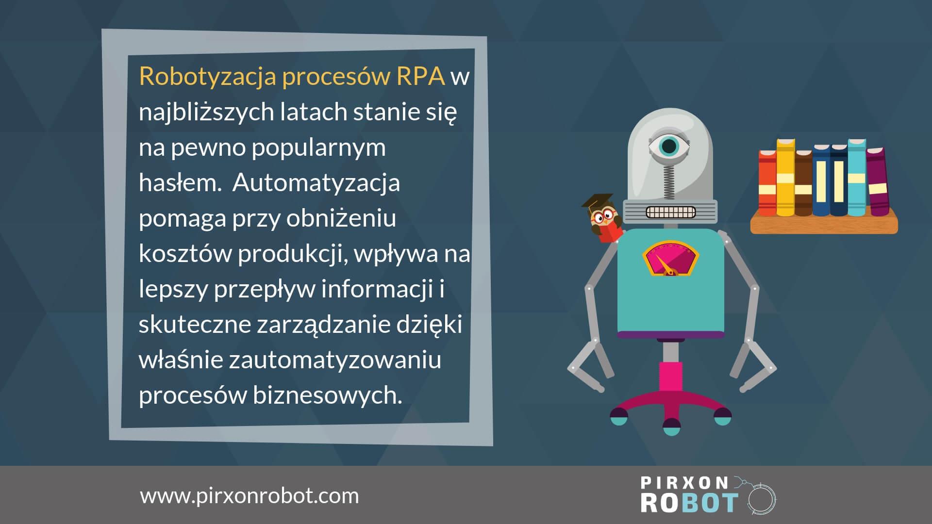 robotyzacja procesów RPA pirxonrobot